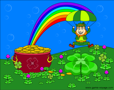 Pot of Gold Coloring